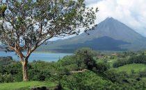 Laguna de Arenal und Vulkan Arenal, Costa Rica