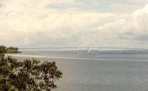 Brücke über den Rio Negro, Manaus, Brasilien