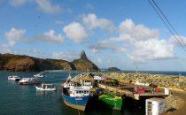Hafen - Fernando de Noronha, Brasilien