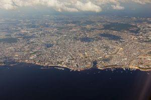 Manaus aus der Luft, Brasilien