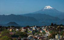 Pico de Orizaba from Xalapa, Veracruz, Mexico