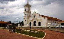 Die Basílica de Santiago Apóstol in Nata, Azuero Halbinsel, Panama