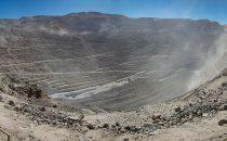 Chuquicamata Mine bei Calama, Chile