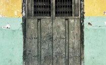 alte Fassade in Granada, Nicaragua