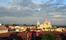 Blick über Granada, Nicaragua