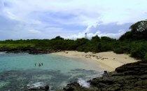 Isla Iguana Strand, Azuero Halbinsel, Panama