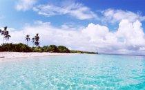 Playa La Mochila auf der Isla Iguana, Azuero Halbinsel, Panama