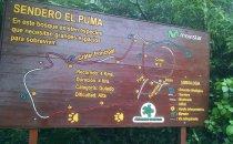El Puma Trail am Mombacho Vulkan, Nicaragua