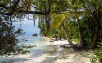 Insel im San Blas Archipel, Kuna Yala, Panama