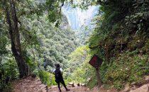 Gocta Wasserfall bei Chachapoyas, Peru