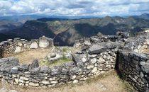 Blick von Kuélap, Region Chachapoyas, Peru