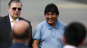 Marcelo Ebrard und Evo Morales, Bild: Twitter