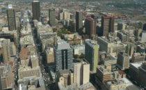 Skyline, Johannesburg, Südafrika
