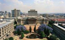 Die Wits Universität, Ostflügel, Johannesburg, Südafrika