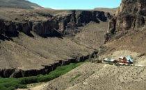 Canyon of the Rio Pinturas near the Cueva de la Manos on Ruta 40 in Patagonia, Argentina © Bertram Roth