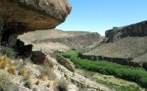Canyon des Rio Pinturas bei der Cueva de la Manos an der Ruta 40 in Patagonien, Argentinien © Bertram Roth