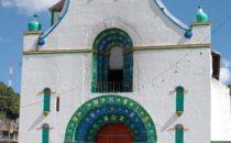 Kirche in San Juan Chamula, Chiapas, Mexiko