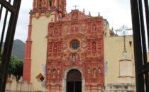 Landa mission church, Sierra Gorda, Mexico