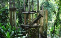 """sculpture garden """"Las Pozas"""" in Xilitla, Mexico"""