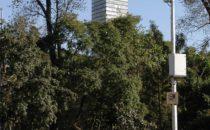 Blick auf den Torre Latinoamericana, Mexico City